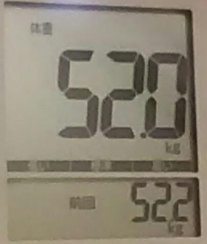 再びダイエット81日目