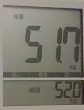 再びダイエット82日目
