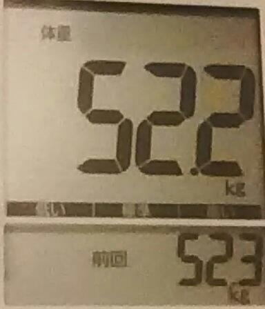 再びダイエット297日目