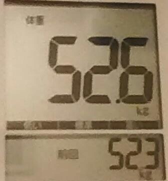 再びダイエット318日目