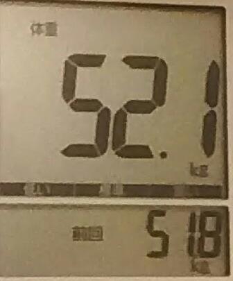 再びダイエット320日目