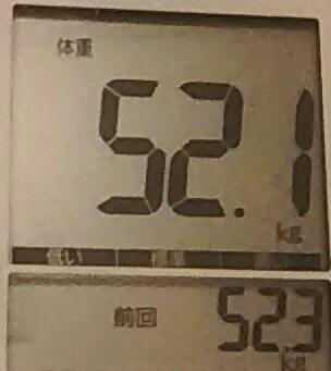 再びダイエット323日目