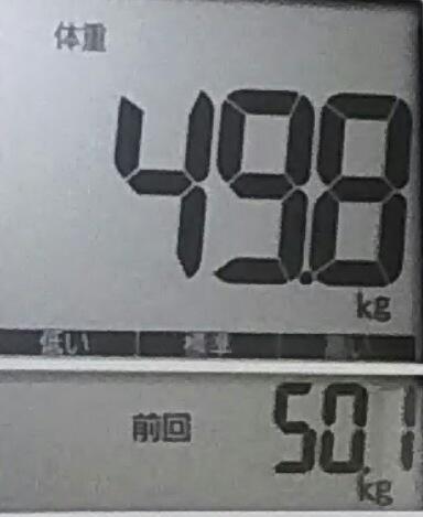 再びダイエット617日目